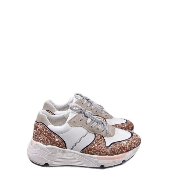 Sneaker Ovye rosè gold