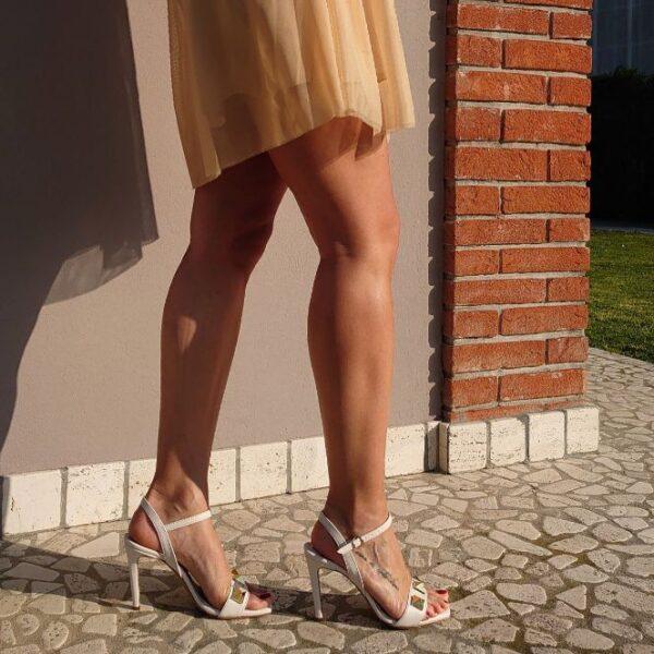 Sandalo Agnese burro