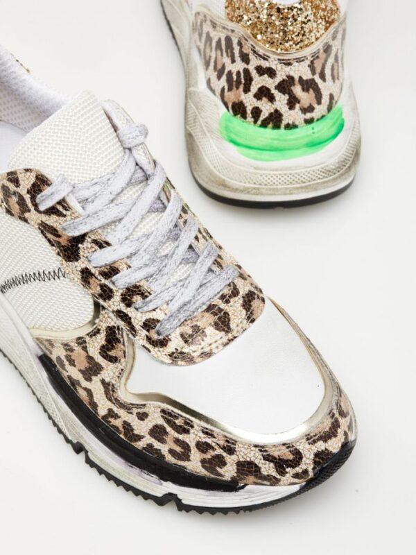 Sneaker Ovye leo fluo