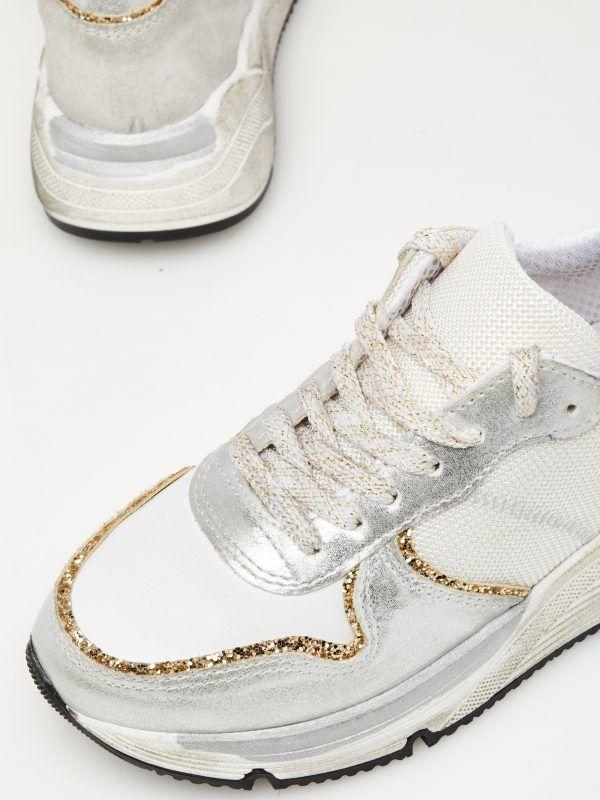 Sneaker Ovye argento